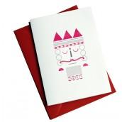 Nussknacker Weihnachtskarte