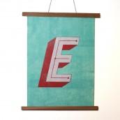 Letter E Print