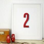 """""""Zwei"""" Print, limitiert"""