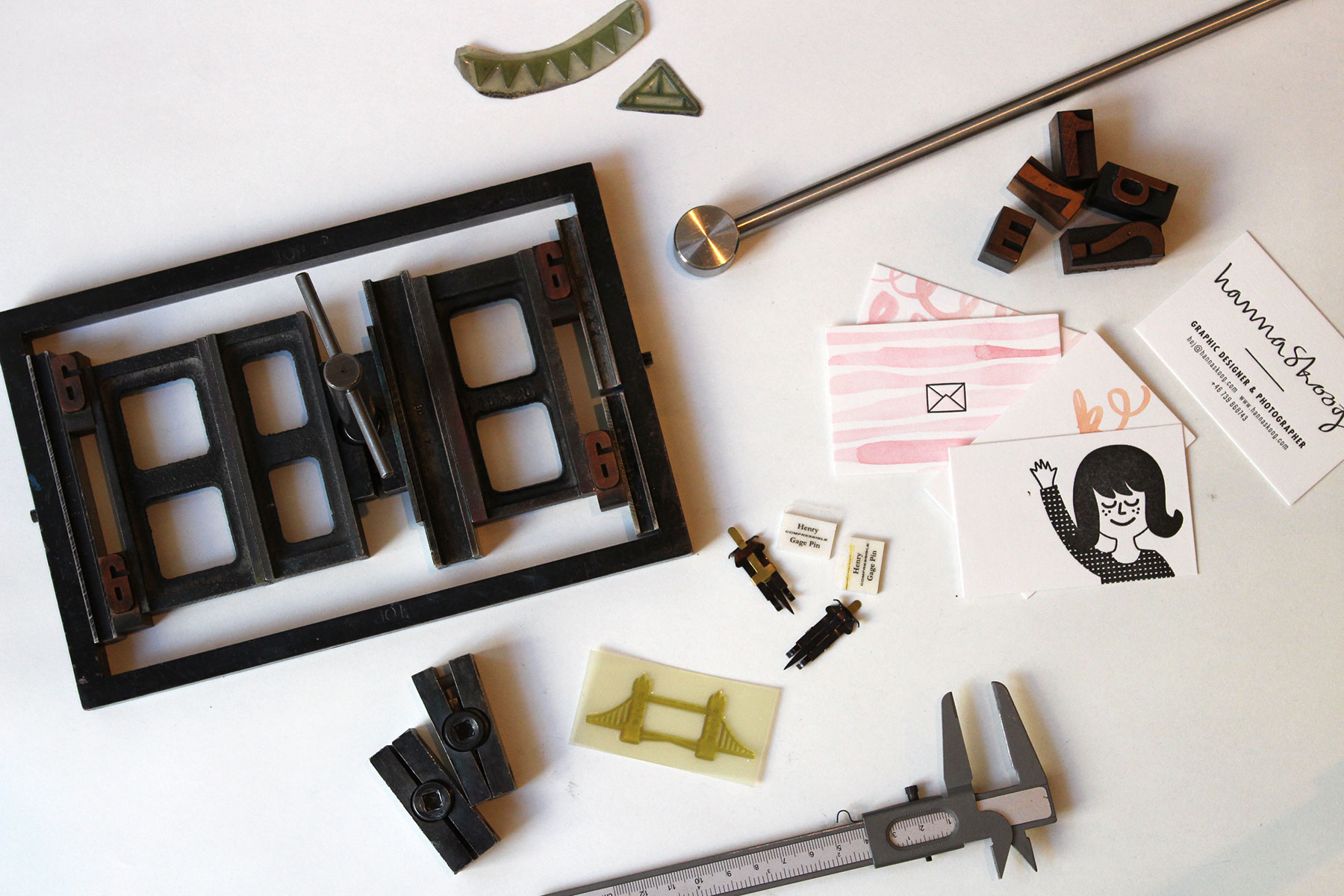 Letterpress email course
