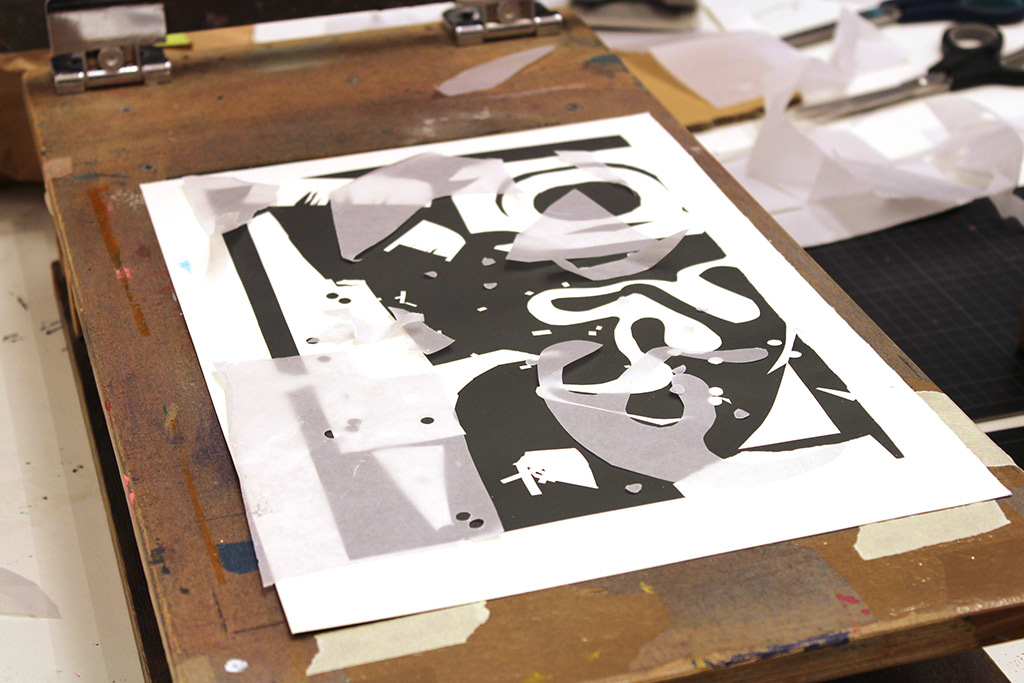 paperstencils screenprinting